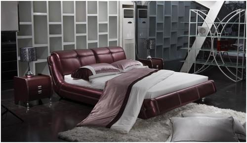 ZIGMUND KING 3 PIECE BEDSIDE BEDROOM SUITE WITH (#24 BEDSIDES) - LEATHERETTE - ASSORTED COLOURS