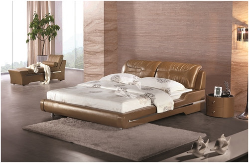 CLIO KING 3 PIECE BEDSIDE BEDROOM SUITE - LEATHERETTE - ASSORTED COLOURS
