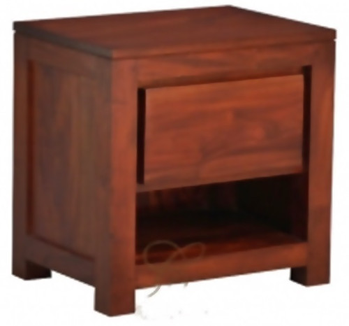 AMSTERDAM ONE DRAWER BEDSIDE (BS 001 TA)  - ASSORTED COLOURS