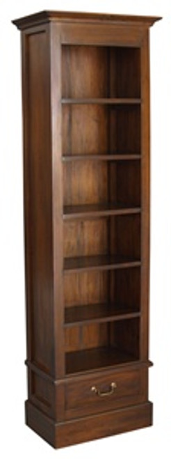 1 DRAWER DVD CASE (BC 001 DVD) - MAHOGANY OR CHOCOLATE