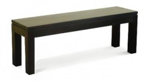 RPN DINING BENCH (BE-128-35-RPN) - MAHOGANY OR CHOCOLATE - 450(H) X 1280(W) - (MODEL 1-13-19-20-5-18-4-1-13)