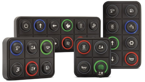 12 Button CAN Keypad