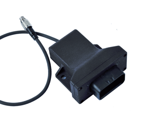 The AiM I/O module for use with PDM units.