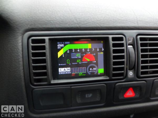 MFD28 VW Golf 4 Specific  pre-FaceLift