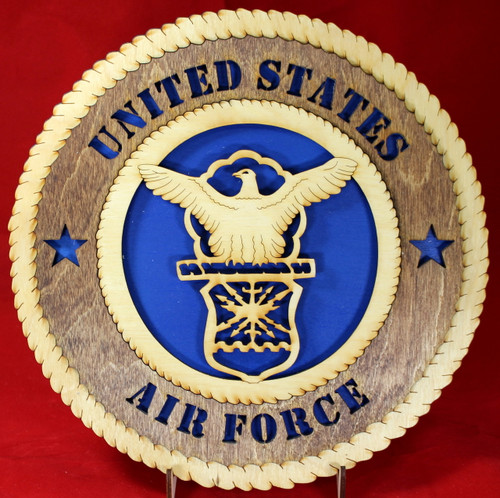 United States Air Force Seal Wall Tribute