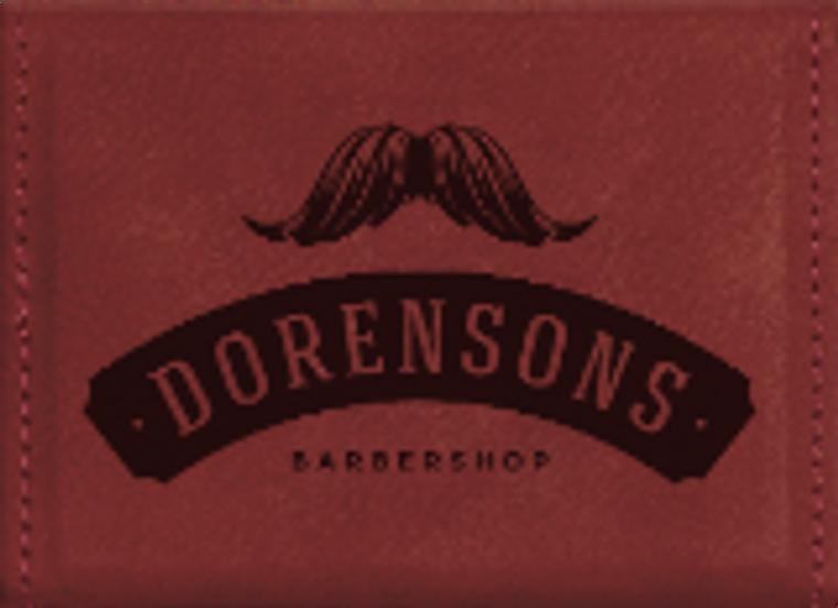 Rose Leatherette Hard Business Card Holder