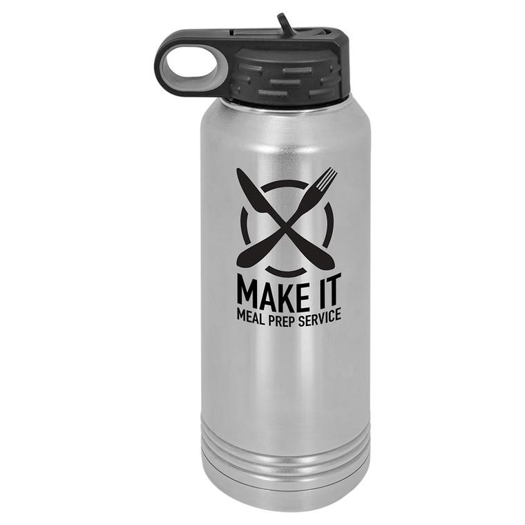 32 oz. Stainless Steel Polar Camel Water Bottle
