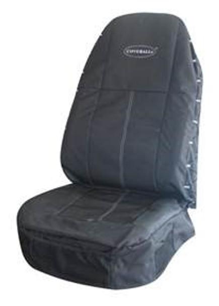 181704XN1161, Universal Drivers Seat Cover (Black/Black)