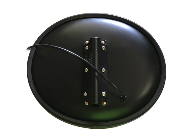 2368VDTH, Hawk-Eye Mirror Head with Vertical Tunnel Mount with Partial Tint (Heated)