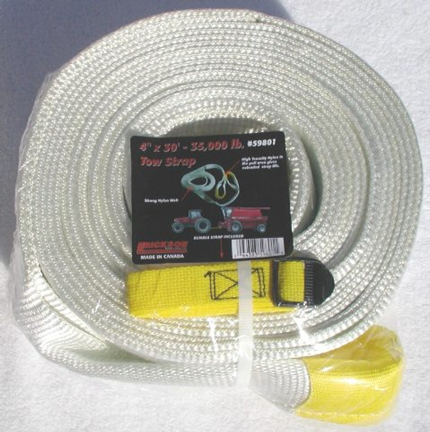 "59801, Tow Strap - 4"" x 30' - 35,000 lbs. Breaking"
