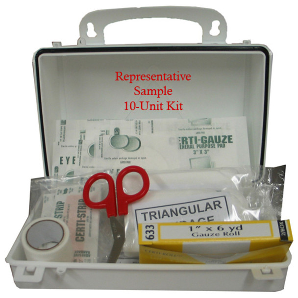 S202225, CT 10 pc Poly First Aid Kit