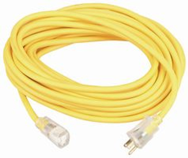 14890002 14/3 100' SJEOW Polar/Solar Plus Ext. Cord w/Lighted End