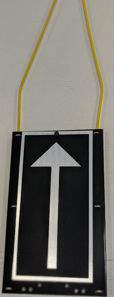 028150SC, SMI Crossing Arm with Arrow Plate