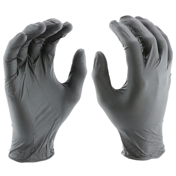 BL-BL-XL, K Tool Black Nitrile Glove X-Large
