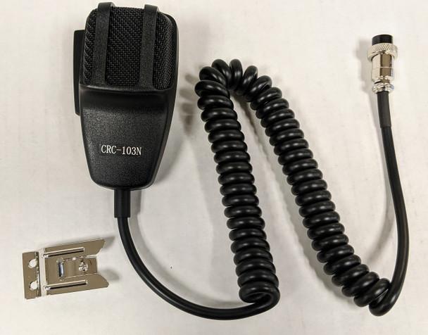 CRC-103N, Custom Radio Microphone with Gain Control (4 Pin)