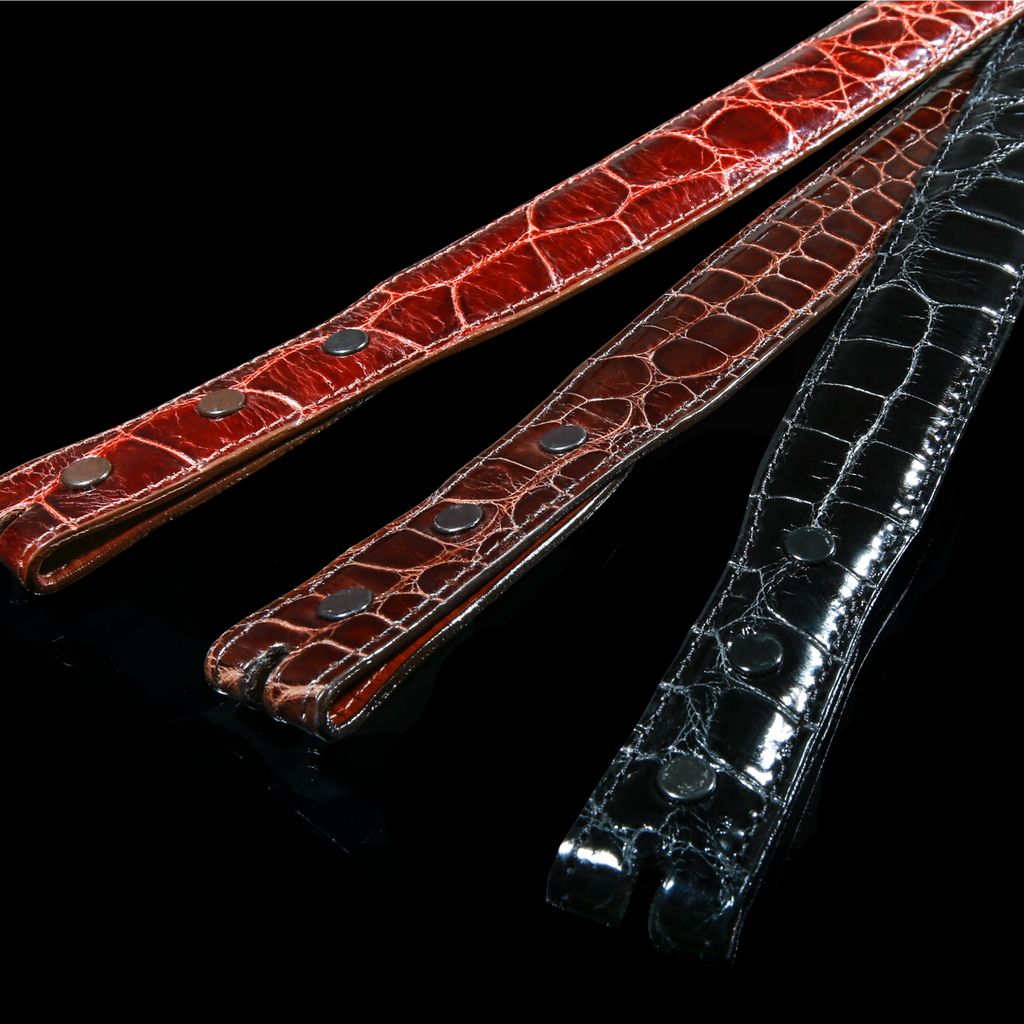 Alligator Belt, Classic 1 1/4 Tapered to 1 inch