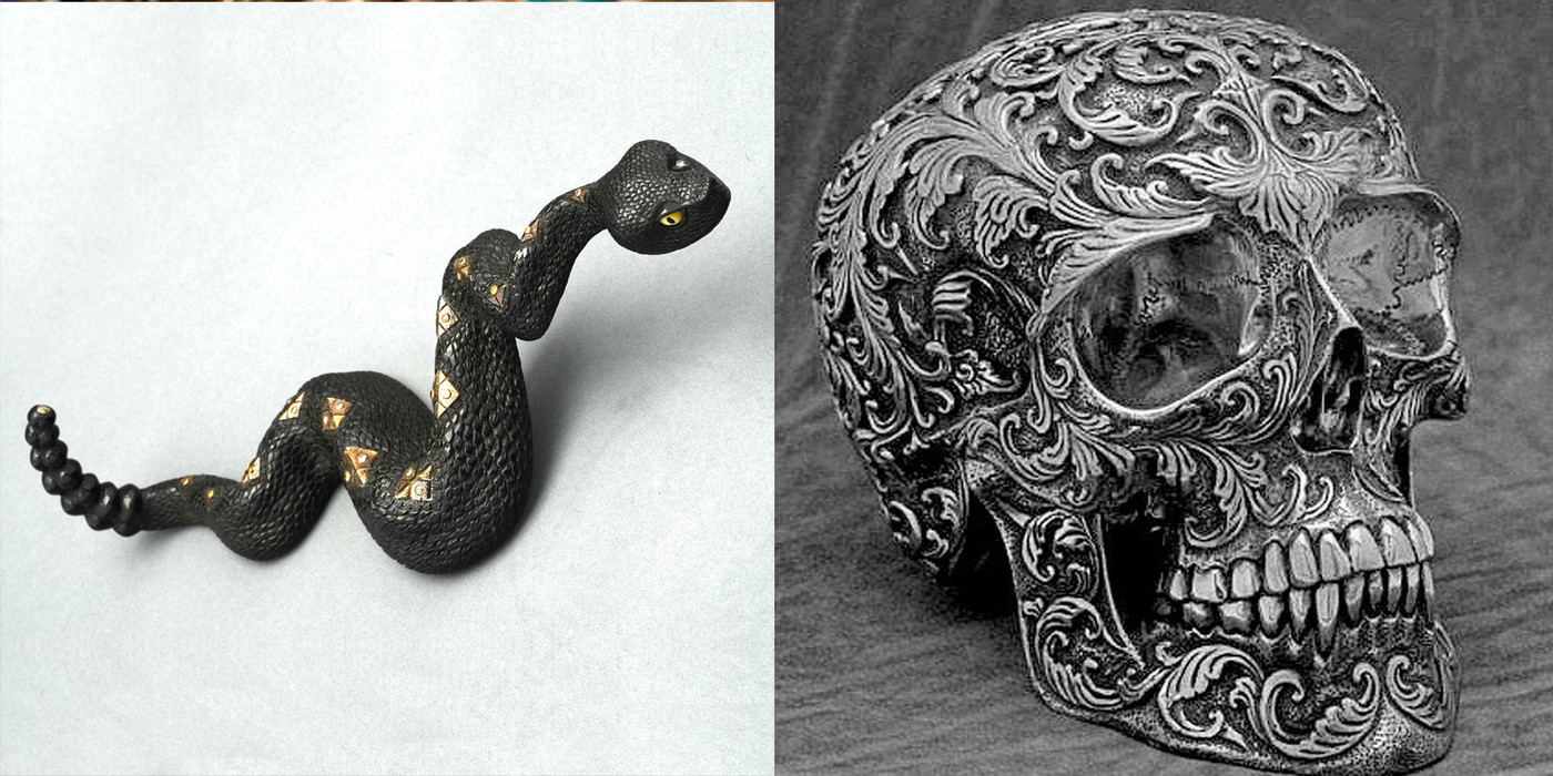 Skull Fine Art Sculptures