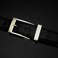 "Sterling Silver & 18K Gold 1 1/2"" Buckle Set-Special Order Only"