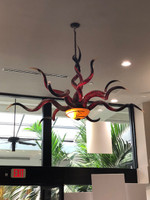 KUDU HORN CHANDELIER-Shipping Extra