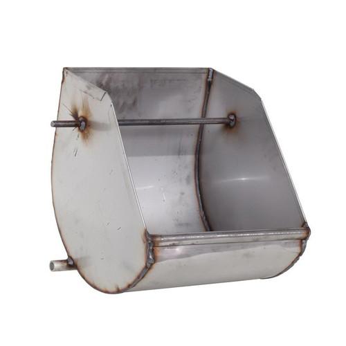 18 Gauge Stainless Steel Round Bottom Tip Out Feeder