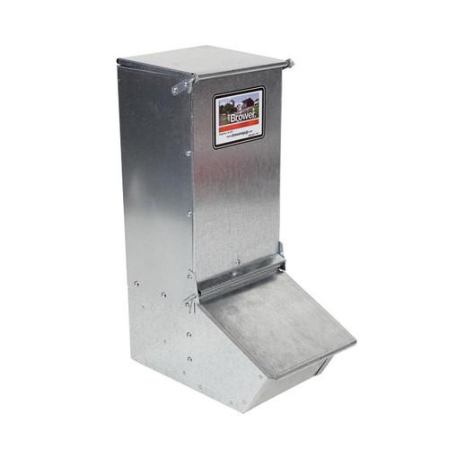 Brower® 1-Door Hog Feeder, 1.5 Bushel