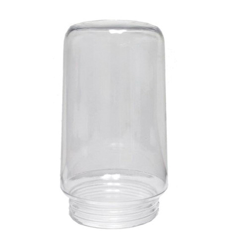 Clear Plastic Replacement Globe, 6-1/4 in H