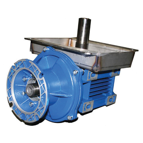AP Gear Box Assembly With Shaft, For Use With Model 236 Chain Disk System, Service and Motovario