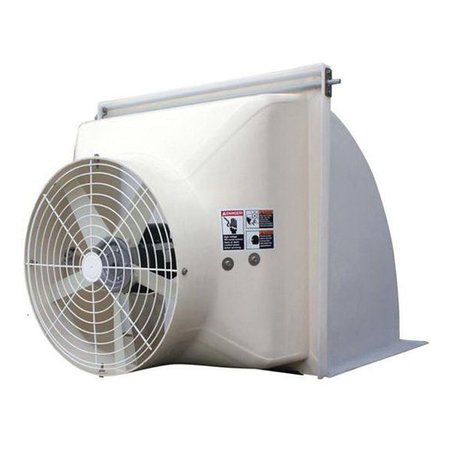 Cumberland® Competitor Series 24 Inch Direct Drive Variable Speed Shutter Fan No Cone