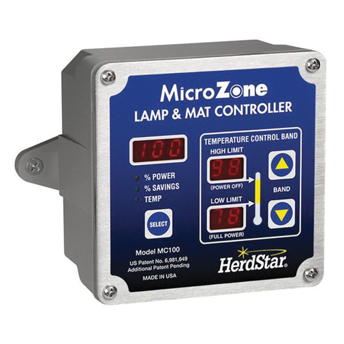 MicroZone™ MC100 Lamp and Mat Assembly ASY-000023