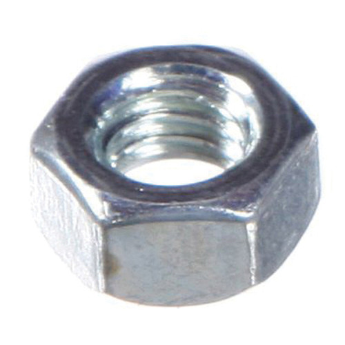 GSI® Nut, Imperial, 5/16 in, Zinc Plated, Grade 2