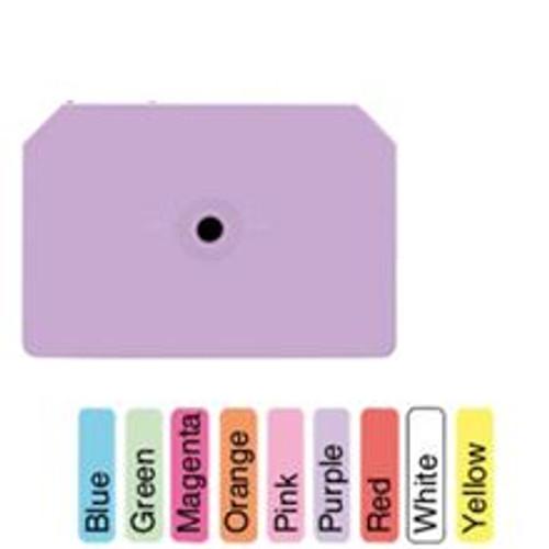 Allflex® Integra™ Red Blank Hog Male Ear Tag 2 1/4 Inch