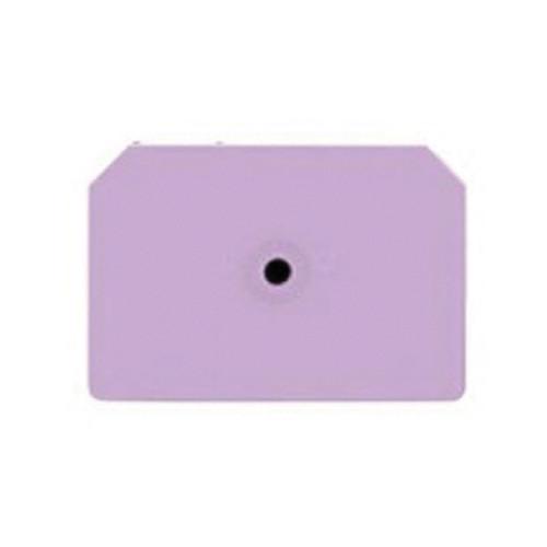 Allflex® Integra™ Orange Blank Hog Male Ear Tag 2 1/4 Inch