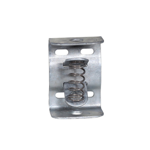 Galvanized Bracket for Pipe, with Ears & Spring