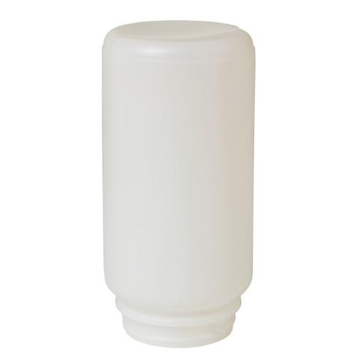 Screw-On Poultry Jar, 1 qt, 3-1/2 in Dia, 7-1/4 in H, Plastic