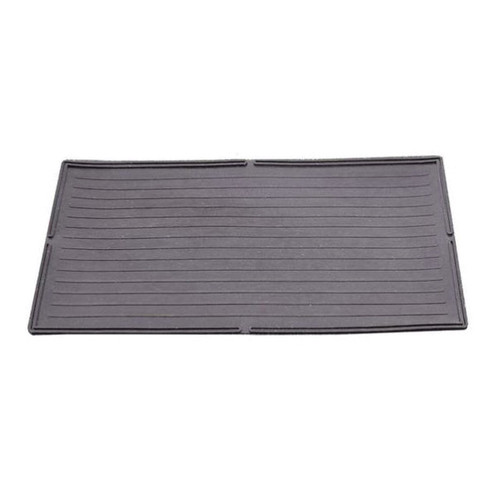 Rubber Farrowing Mat With Feed Saver Lips, 24 in L x 48 in W, Nyracord Rubber