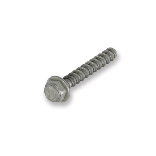 Tapcon® Corrosion-Resistant Large Diameter Concrete Screw Anchor, 3/8 in Dia x 2-1/2 in L, Hex Head