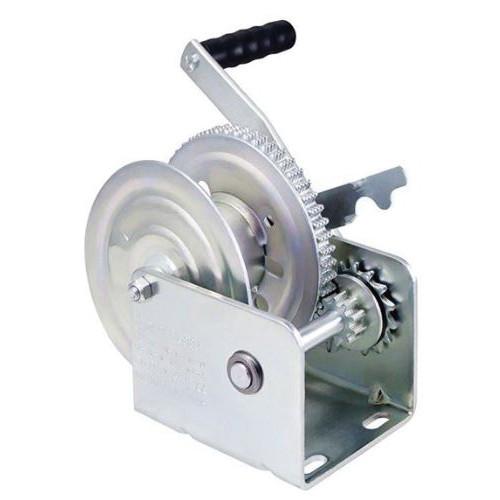 Dutton-Lainson® Standard Winch With Handle, Brake, 1500 lb Load, Zinc TUFFPLATE