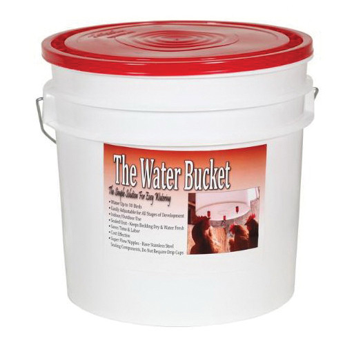 Poultry Watering Bubket - 3.5 Gallon