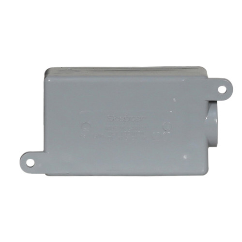 F Series Electrical PVC Single Junction Box With Integral Mounting Feet