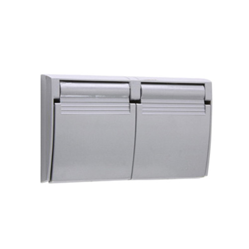 Duplex GFI Waterproof, Thermoplastic Receptacle Cover
