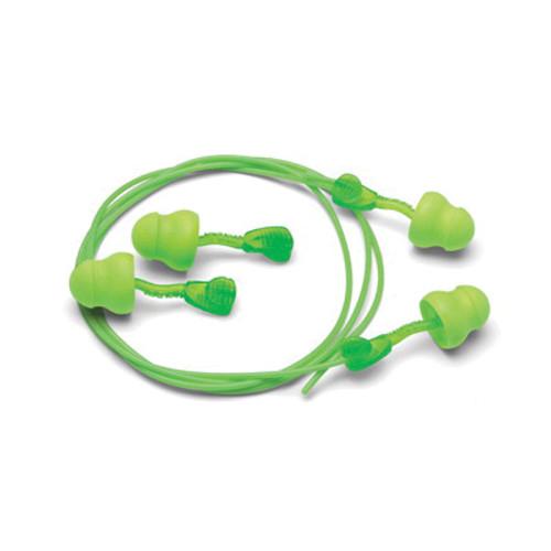 Moldex® Glide® Foam-No-Roll Twist-In Earplug, 30 dB, Disposable, Multi-Curved Stem