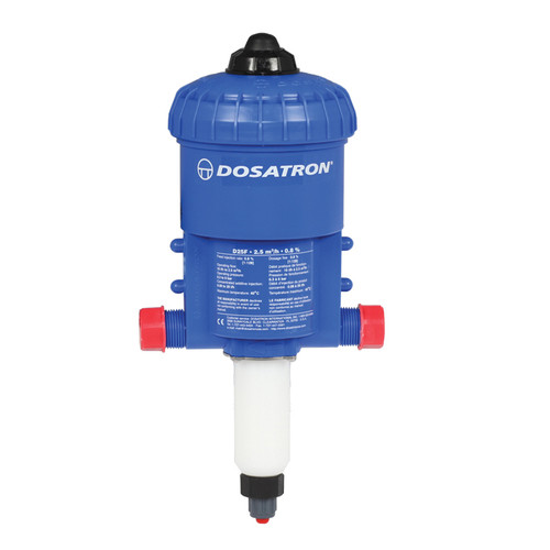 Dosatron D25F Medicator, 0.05 to 11 gpm, 3/4 in Connection, 4.3 to 85 psi