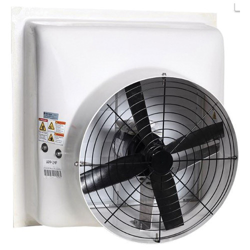AP® Performer Series 36 Inch Direct Drive Variable Speed Shutter Fan No Cone