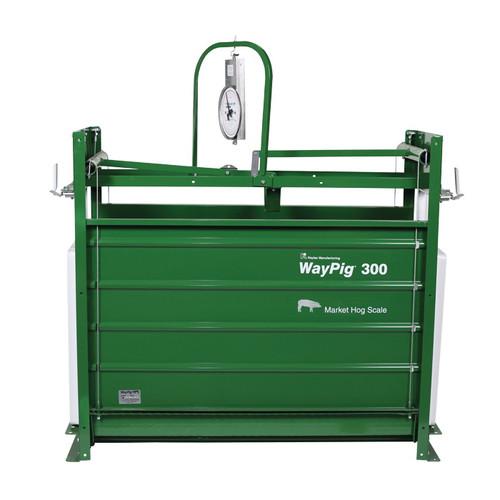 WayPig® Mechanical Market Hog Scale, 300 lb, 56 in L