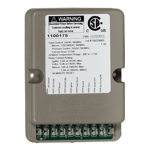 Purafire Module Control Board Replacement