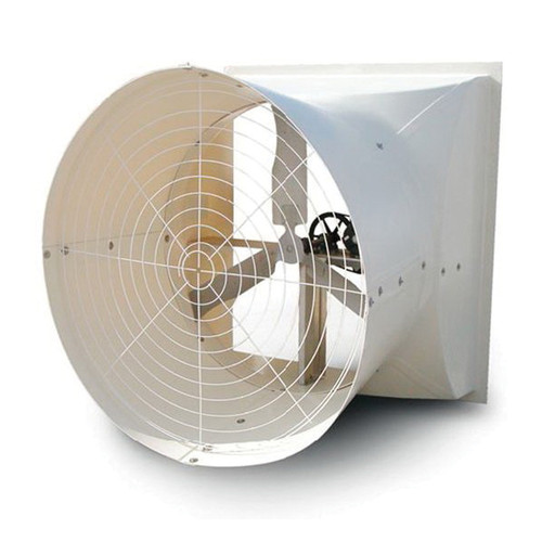 Cumberland® Competitor Series 24 Inch Direct Drive Variable Speed Shutter Fan With Cone