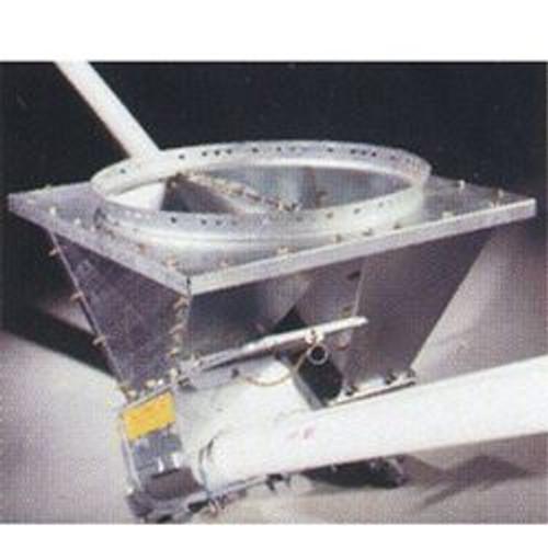 Agri-Plastics 30 deg Double Heavy Duty Boot, 22 in ID, For Use With 67 deg Hopper, Steel