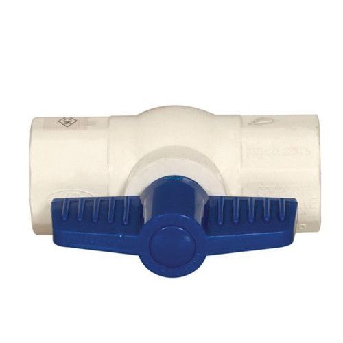VAL-CO® 3/4 Inch Ball Valve With Groove