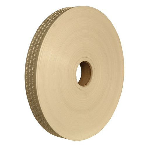 Poly Perforated Egg Belt, 3-3/4 in x 1020 ft L x 64 mil THK