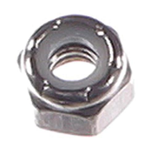Cumberland® Lock Nut, Imperial, #10-24, Zinc Plated, Grade 2